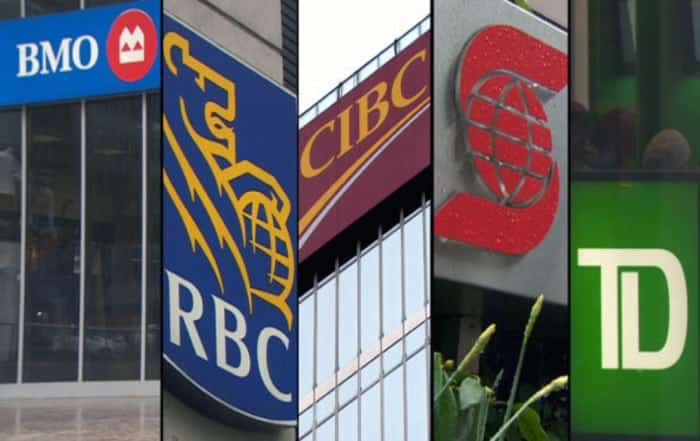 Canada's Big 5 Banks All Raise Interest Rates