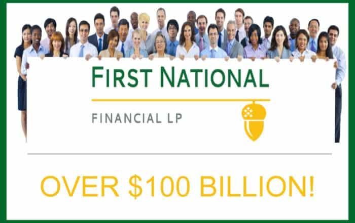 First National Financial Over 100 Billion