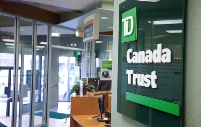 TD Canada Trust Posts Strongest Earnings